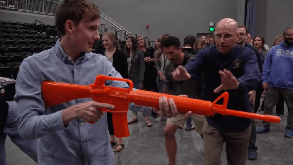 Active Shooter Gun Disarm